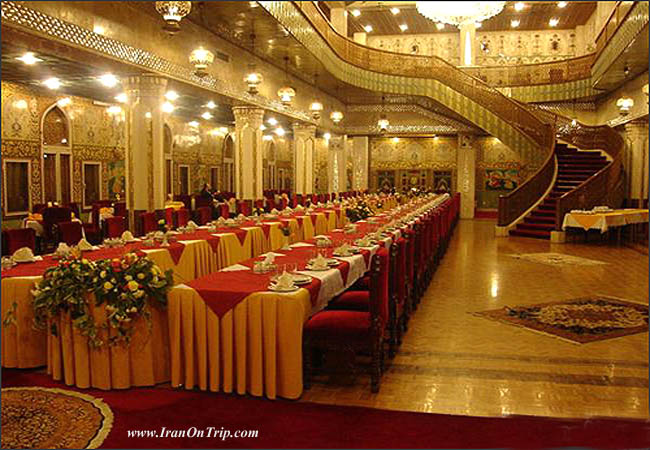 Restaurants of hotel Abbasi in Isfahan