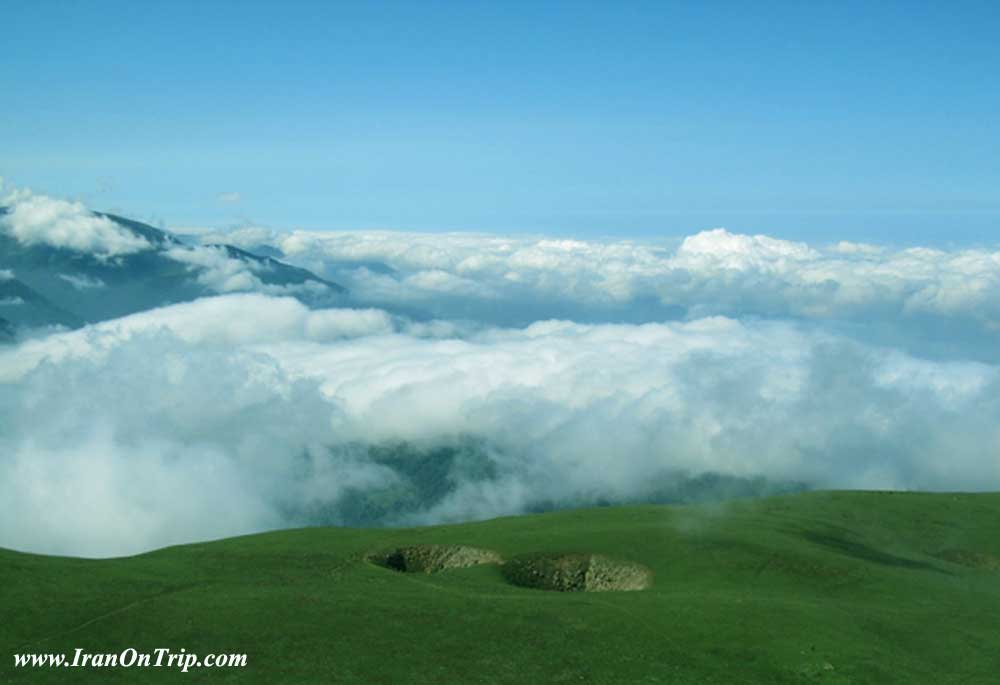 Abr Forests of Shahroud - Cloud Forest in Shahroud Iran - Cloud Forests of Iran