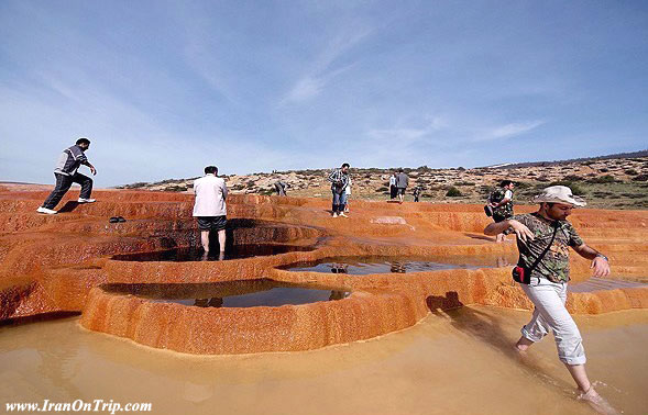 Badab Sourt spas in Mazanderan Iran