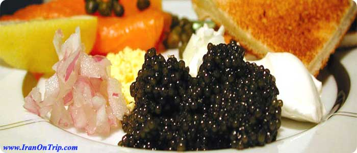 Caviar of Iran - Iranian Food - Persian Cuisine