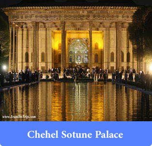 Chehel-Sotune-Palace - Palaces and edifices of Iran