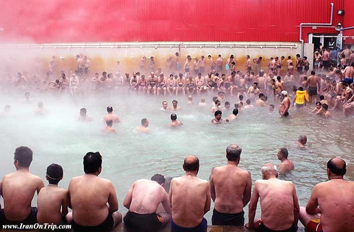 Spas of Iran - mineral waters of Iran