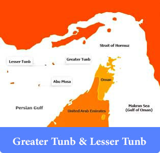 Greater-Tunb-&-Lesser-Tunb - Islands of Iran