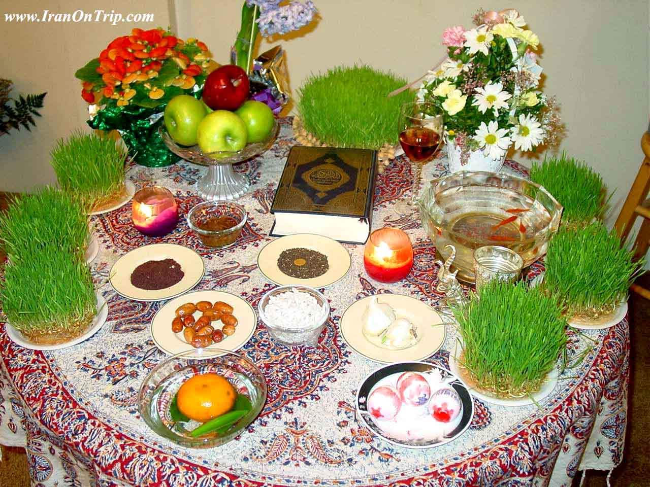 Nowruz in Iran and ceremony