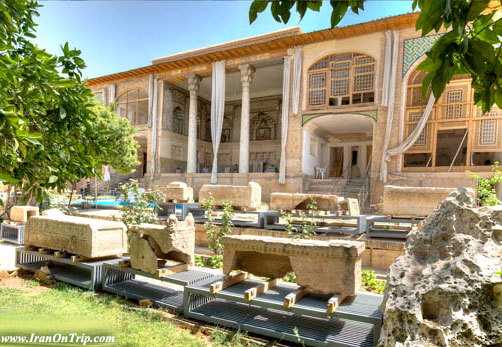 Haft Tanan Mourning Place in Shiraz