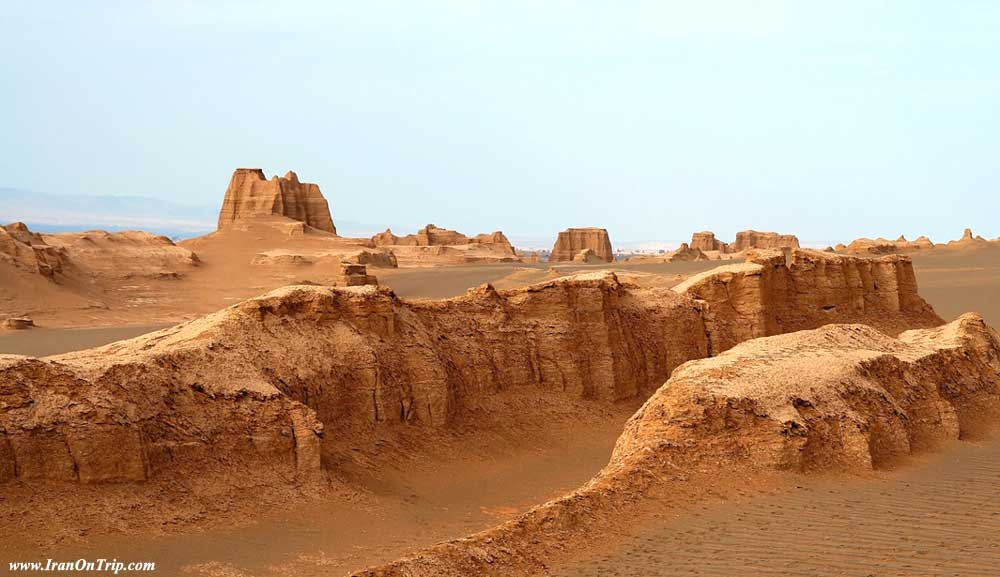 Iran's Lout Desert Earth's Hottest Spot - Deserts of Iran