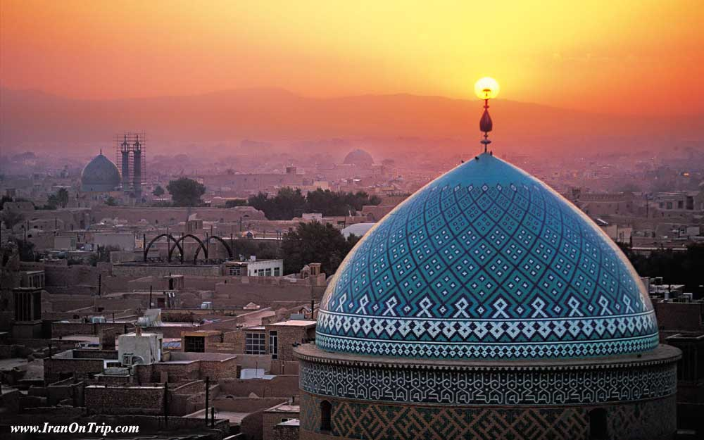 Yazd Jame Mosque - Historical Mosques of Iran