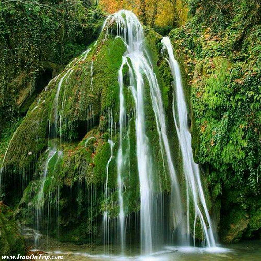 Kaboud-val waterfall  Golestan  Iran - Waterfalls of Iran