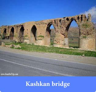 Kashkan Bridge - Historical Bridges of Iran