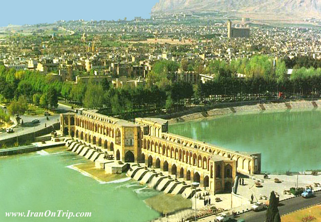 Khaju Bridge Isfahan Iran -  Khajoo Bridge