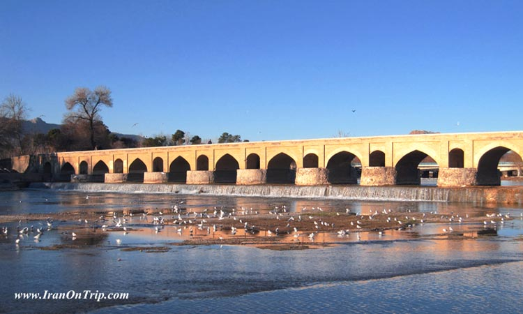 Marnan Bridge - Old bridge of Iran