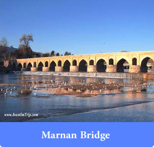 Marnan Bridge - Historical Bridges of Iran