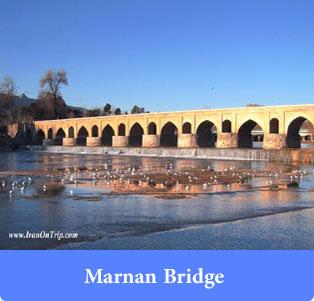 Marnan Bridge - Historical Bridges of Iran