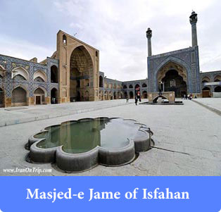 Masjed-e Jame of Isfahan - Historical places of Iran