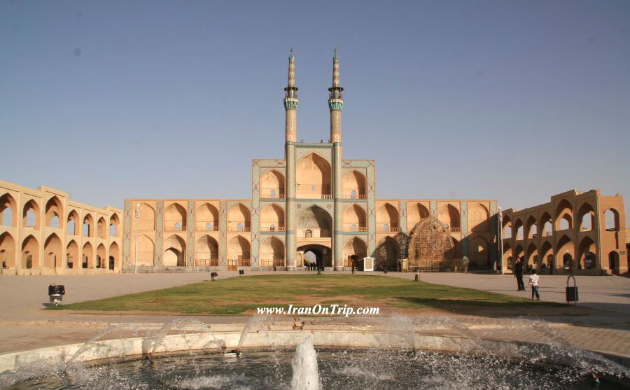 Yazd Mir Chaqmaq Mosque - Historical Mosques of Iran