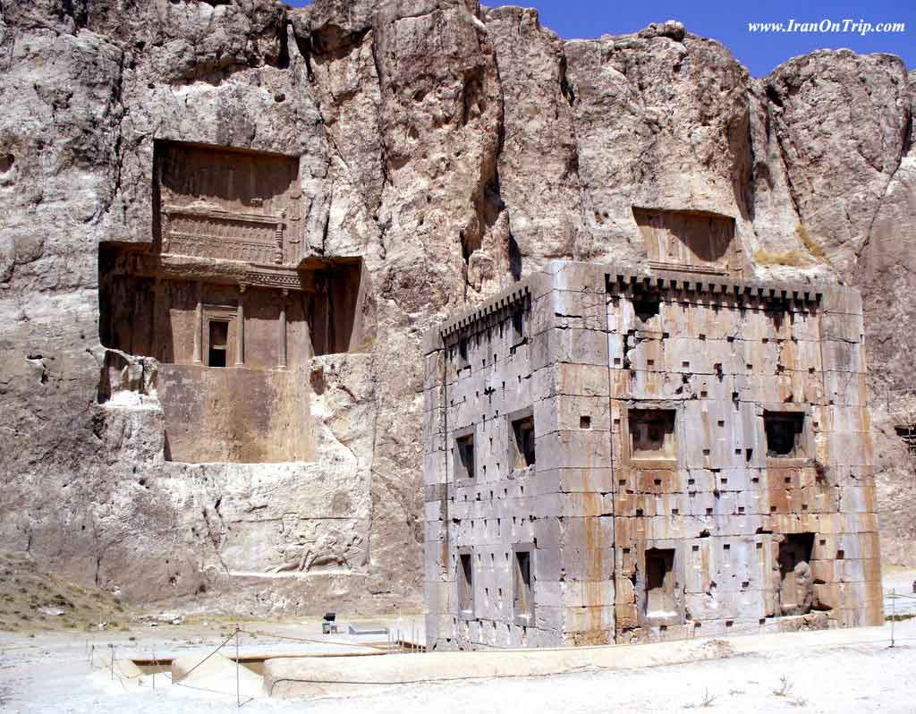Naqsh-e-Rostam Engraving in Shiraz Iran- Historical Places of Iran