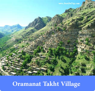 Oramanat Takht Village-Kurdistan-Historical Villages of Iran