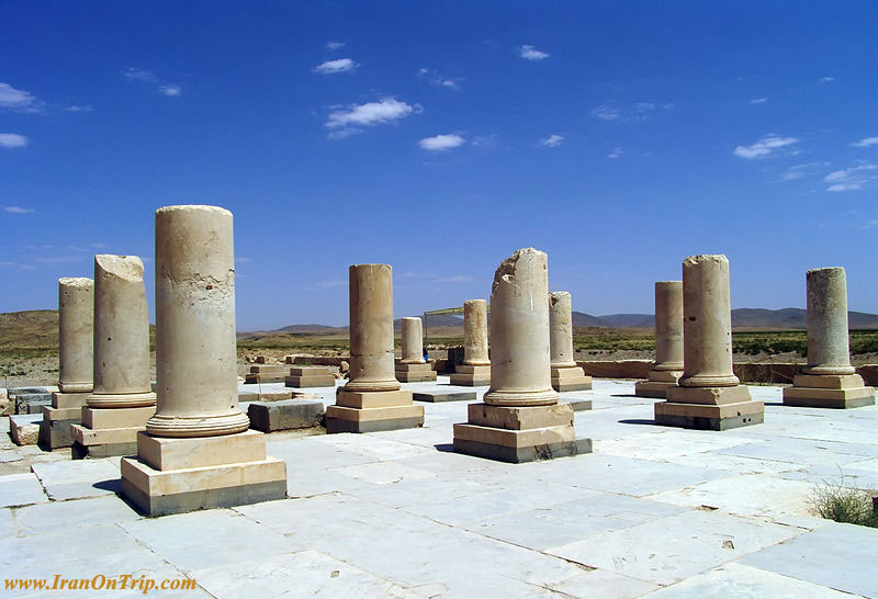 Pasargadae Palace, Marvdasht in Shiraz Iran