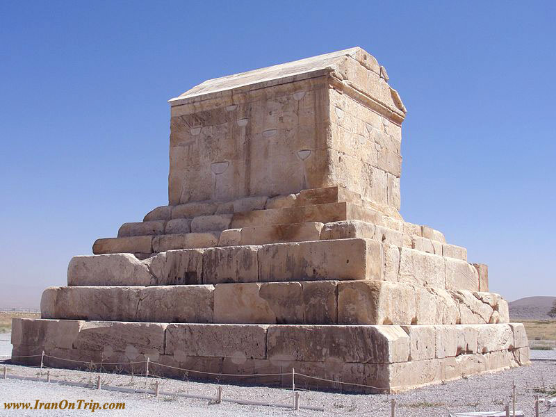Pasargadae, Marvdasht-Koroosh Tomb-Cyrus Tomb in Shiraz Iran