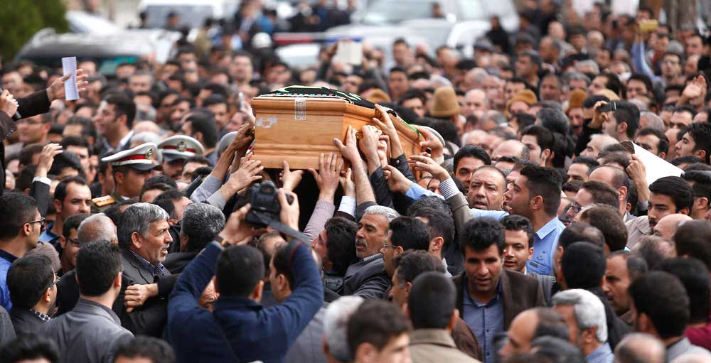 Rituals of Death in Iran