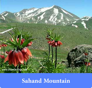 Sahand Mountain - Mountains of Iran