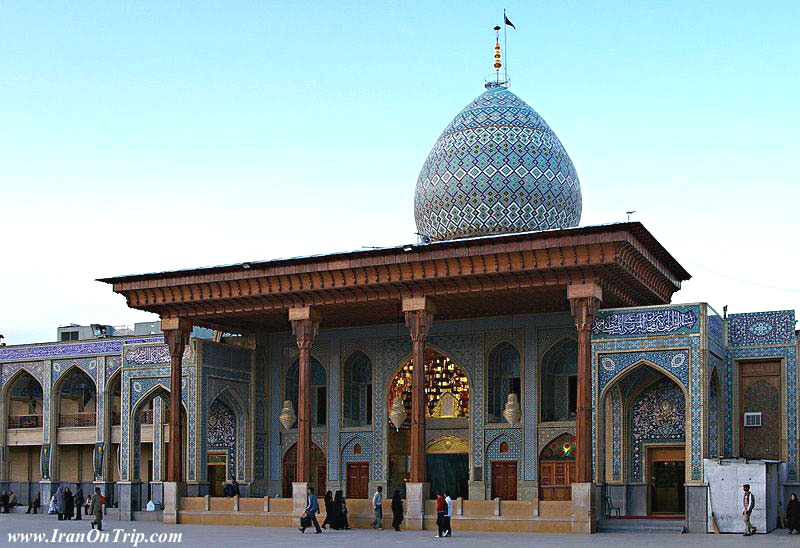 Shah Cheragh in Shiraz Iran-Holy Places of Iran