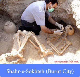 Shahr-e-Sokhteh (Burnt City) - Historical places of Iran