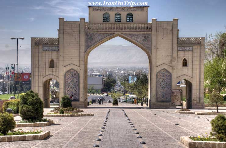 Qur'an Gate in Shiraz-Darvazeh Qur'an-Historical Places of Iran