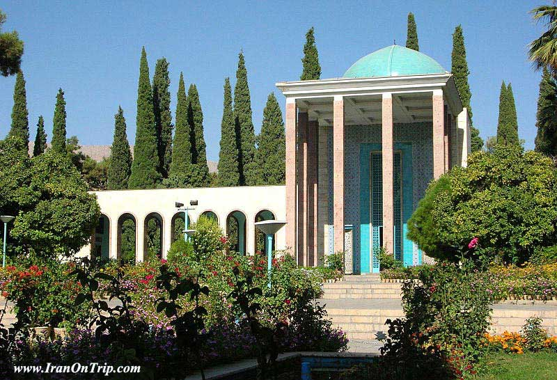 The Tomb of Saadi in Shiraz Iran