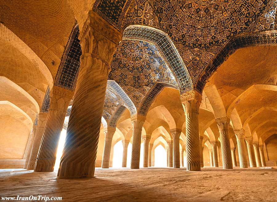Vakil Mosque in Shiraz-Historical Mosques of Iran