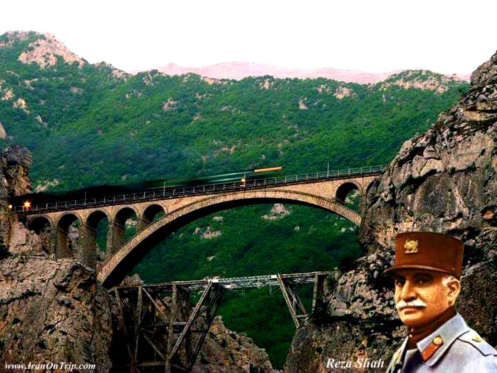 Historical Bridge of Iran - Veresk Bridge