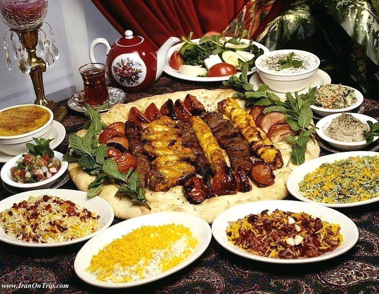 Iranian Food - Persian Cuisine - Persian Cooking - Iranian Cooking