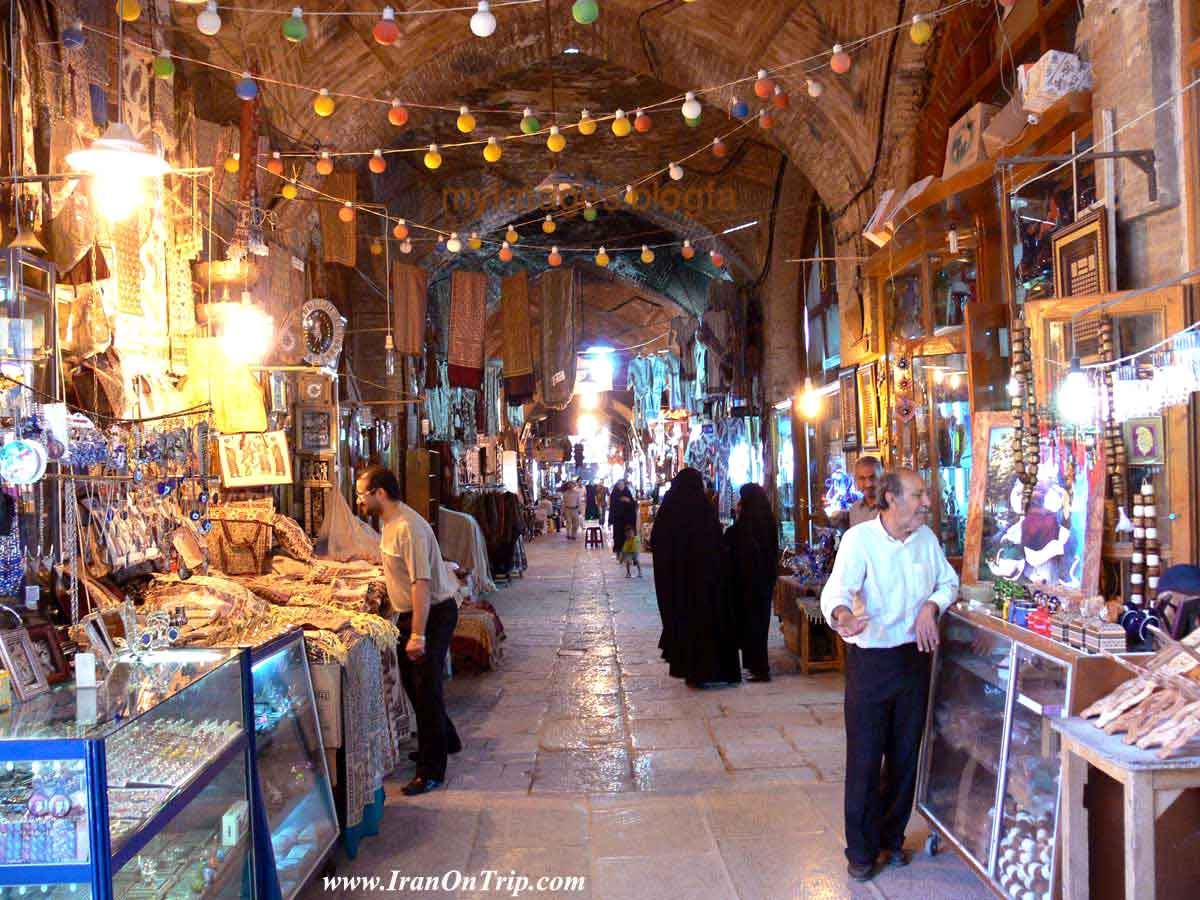 The Bazaar of Isfahan - Qeysarieh bazaar in Isfahan